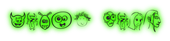 Font Fred Alien Glow Logo Preview