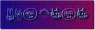 Font Fred Blended Logo Preview