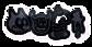 Font Fred Dark Logo Preview