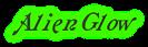 Font Galathea Alien Glow Logo Preview