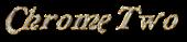 Font Galathea Chrome Two Logo Preview