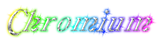 Font Galathea Chromium Logo Preview