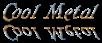 Font Galathea Cool Metal Logo Preview