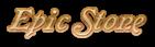 Font Galathea Epic Stone Logo Preview