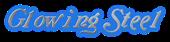 Font Galathea Glowing Steel Logo Preview