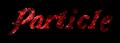 Font Galathea Particle Logo Preview