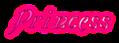 Font Galathea Princess Logo Preview