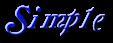 Font Galathea Simple Logo Preview