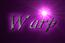 Font Galathea Warp Logo Preview