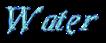 Font Galathea Water Logo Preview