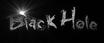 Font Grunge Black Hole Logo Preview