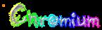 Font Grunge Chromium Logo Preview