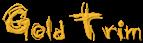 Font Grunge Gold Trim Logo Preview