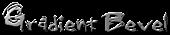 Font Grunge Gradient Bevel Logo Preview