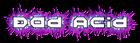 Font Halo Bad Acid Logo Preview