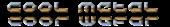 Font Halo Cool Metal Logo Preview