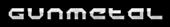 Font Halo Gunmetal Logo Preview
