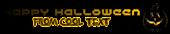 Font Halo Halloween Symbol Logo Preview