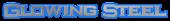 Font Ikarus Glowing Steel Logo Preview
