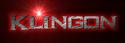 Font Ikarus Klingon Logo Preview
