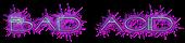 Font Interdimensional Bad Acid Logo Preview