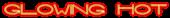 Font Interdimensional Glowing Hot Logo Preview