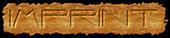 Font Interdimensional Imprint Logo Preview