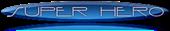 Font Interdimensional Super Hero Button Logo Preview