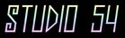 Font Jealousy Studio 54 Logo Preview