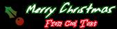 Font Jessescript Christmas Symbol Logo Preview
