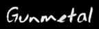 Font Jessescript Gunmetal Logo Preview