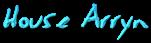 Font Jessescript House Arryn Logo Preview