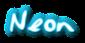 Font Jessescript Neon Logo Preview