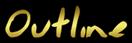 Font Jessescript Outline Logo Preview