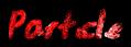 Font Jessescript Particle Logo Preview