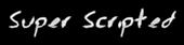 Font Jessescript Super Scripted Logo Preview