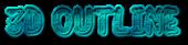 Font Jokewood 3D Outline Textured Logo Preview