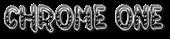 Font Jokewood Chrome One Logo Preview