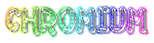 Font Jokewood Chromium Logo Preview