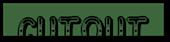 Font Jokewood Cutout Logo Preview