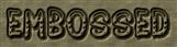 Font Jokewood Embossed Logo Preview