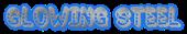 Font Jokewood Glowing Steel Logo Preview