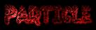 Font Jokewood Particle Logo Preview