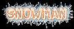 Font Jokewood Snowman Logo Preview