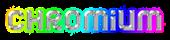 Font Jumbo Chromium Logo Preview