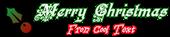 Font Kelly Ann Gothic Christmas Symbol Logo Preview