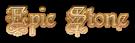 Font Kelly Ann Gothic Epic Stone Logo Preview