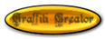 Font Kelly Ann Gothic Graffiti Creator Button Logo Preview