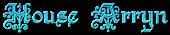 Font Kelly Ann Gothic House Arryn Logo Preview