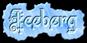 Font Kelly Ann Gothic Iceberg Logo Preview